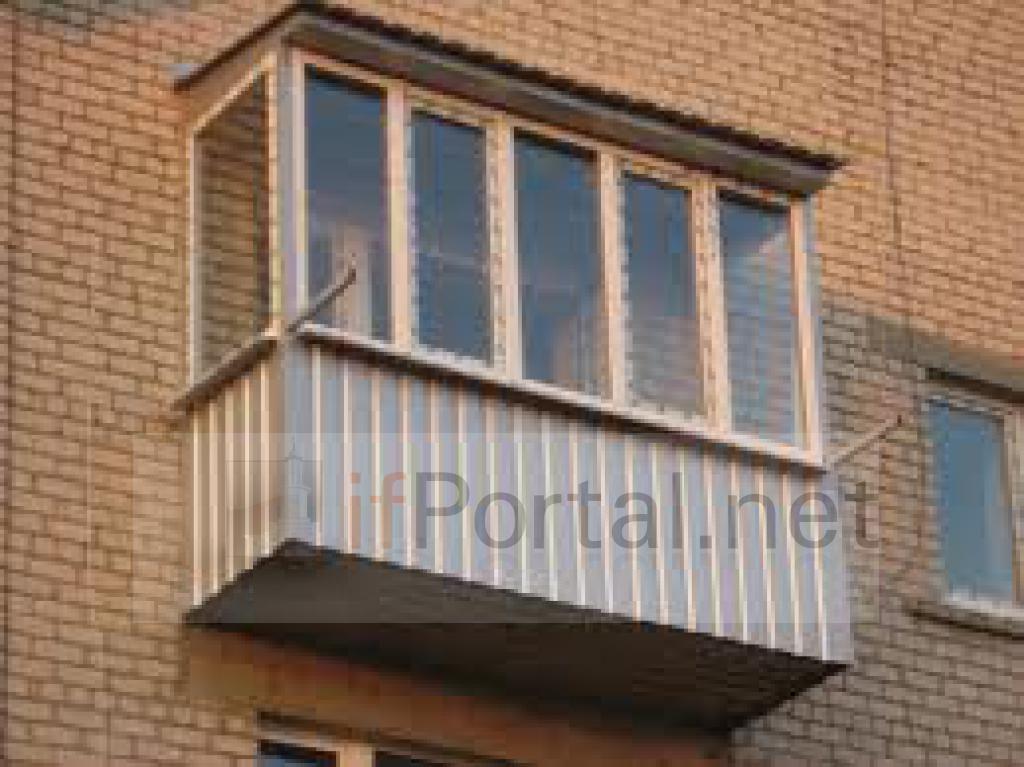 Металлический балкон обшивка. - дизайны балконов - каталог с.